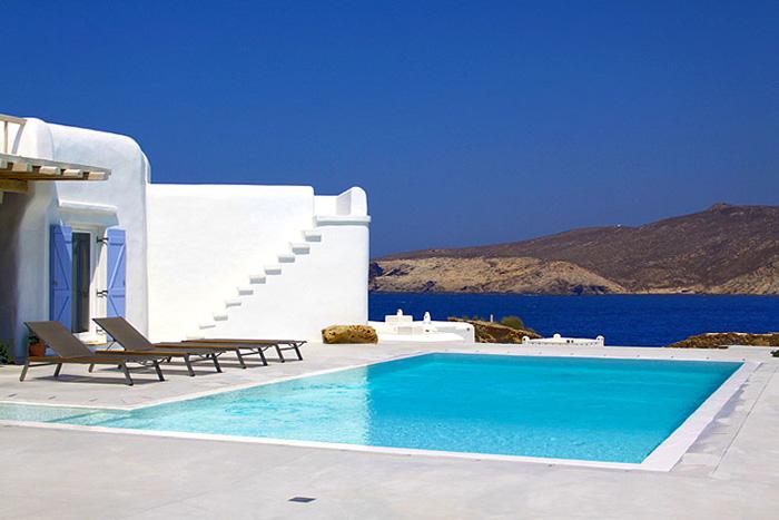 Estilo rustico piscinas rusticas en grecia - Piscinas rusticas ...