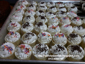 Vanila Cupcake & Deco