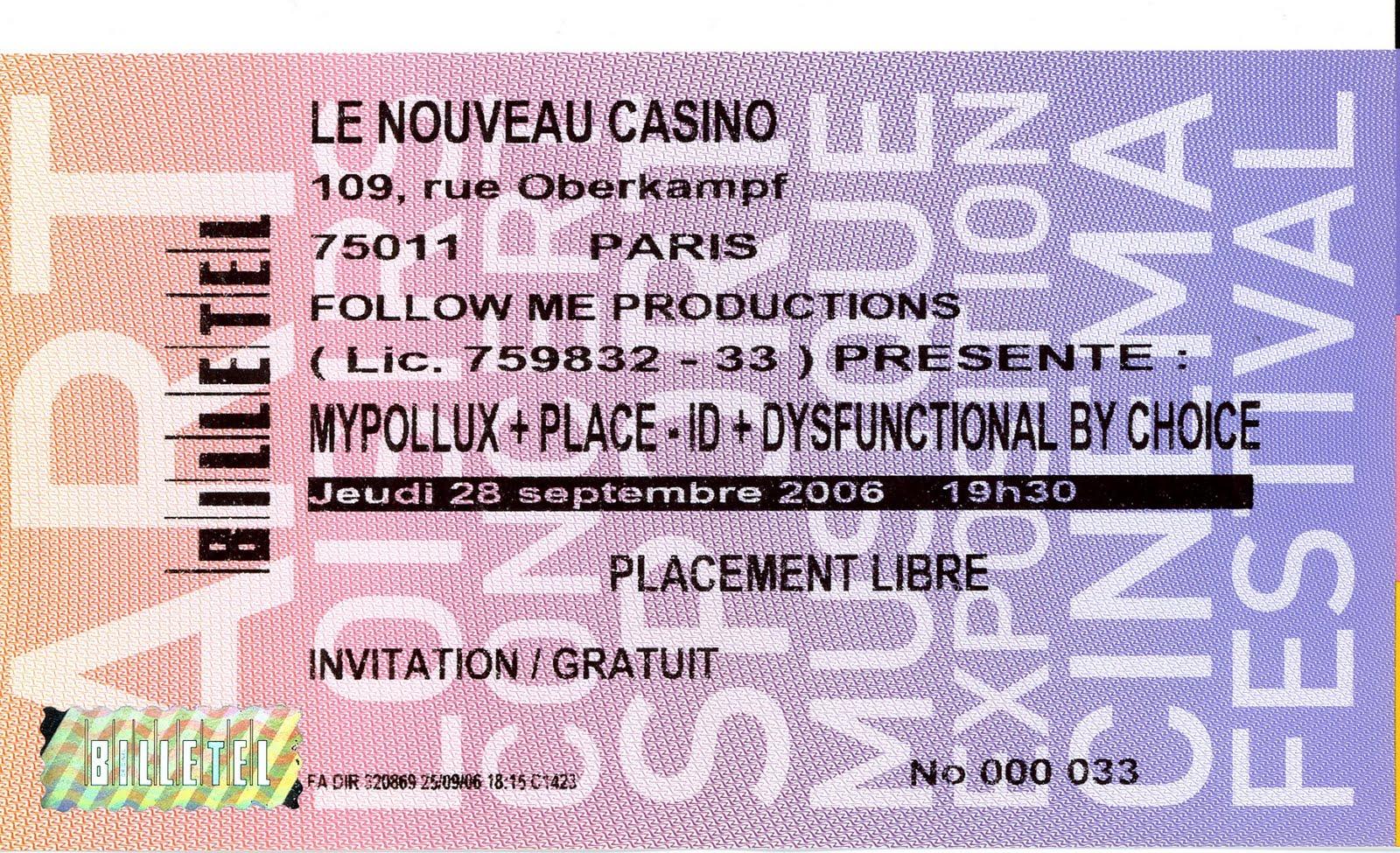 Le nouveau casino paris france