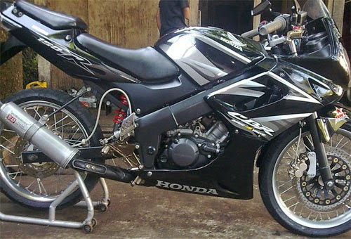 Cutting Stiker Modifikasi CBR 150R Full Fairing