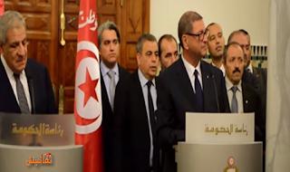 شاهد ما قالة الصحفي التونسي لابراهيم محلب ونص السؤال الذي جعل محلب ينسحب