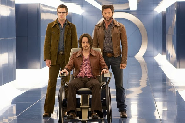 X-Men Days of Future Past still - Beast, Professor Xavier, Wolverine