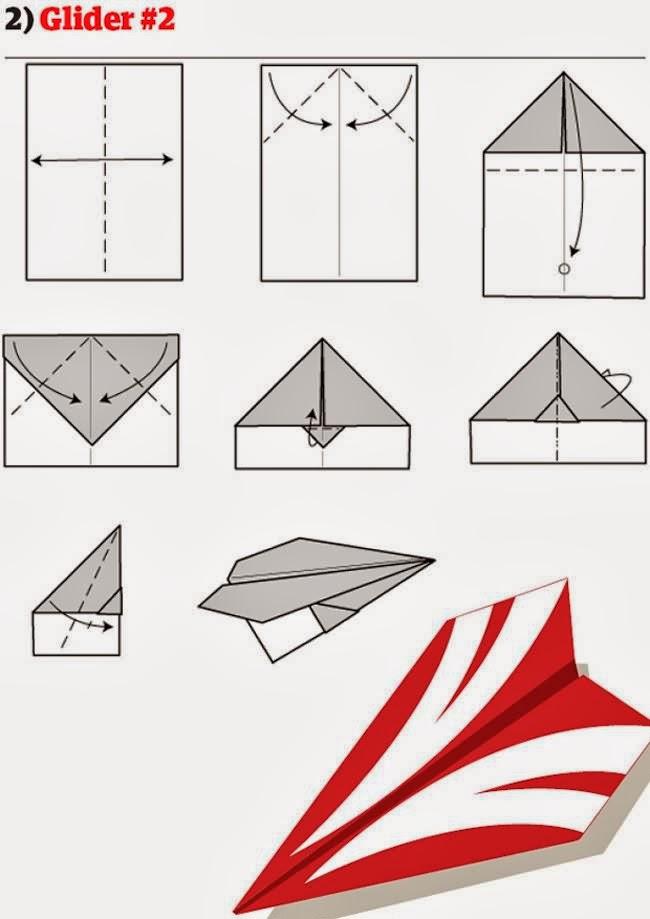 Как сделать самолет с бумагой смотреть