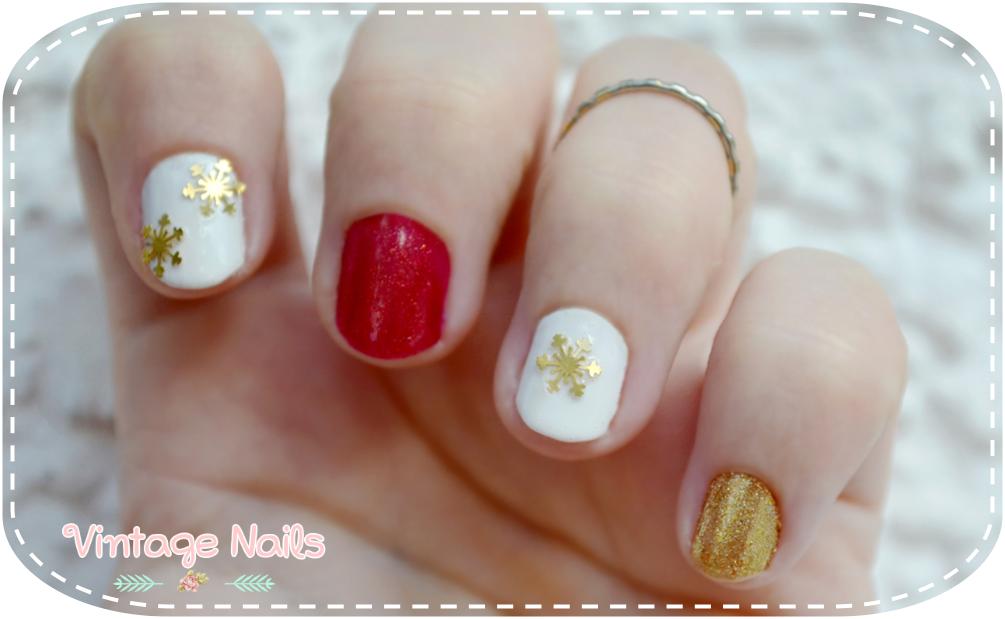 nail art, manicura, manicure, christmas nail art, china glaze, H&M