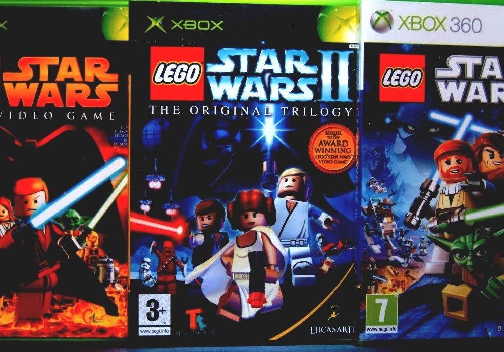 Lego Star Wars (video Game Series) - Lego Star Wars Computer Games