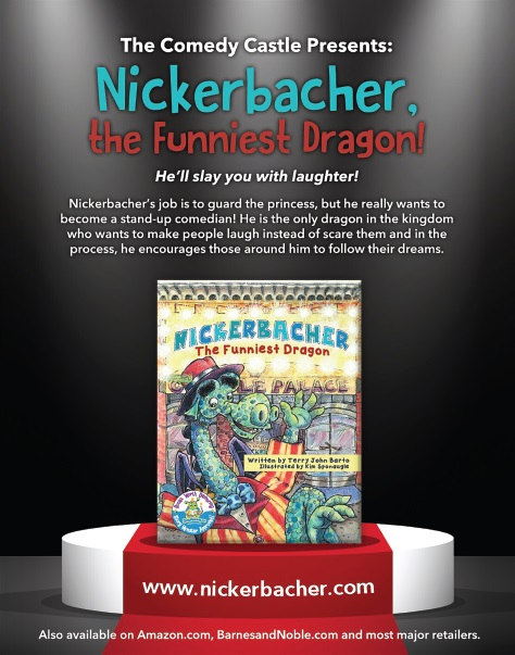 Nickerbacher, the Funniest Dragon!