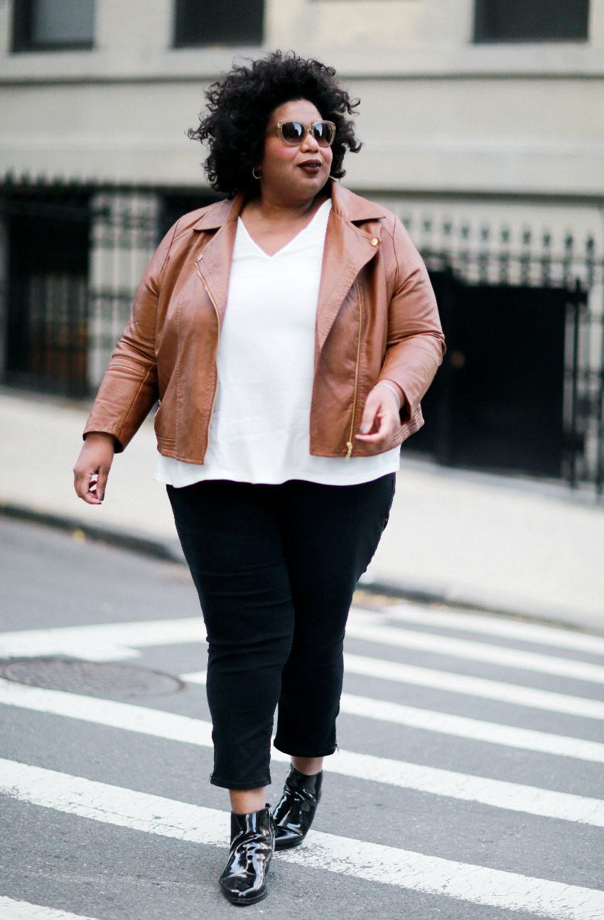 plus size blogger