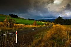 Storm approaching paddock