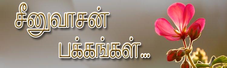 சீனுவாசன் பக்கங்கள்...