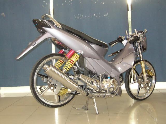 Kumpulan Gambar Modifikasi Motor Supra X Terbaru 2013