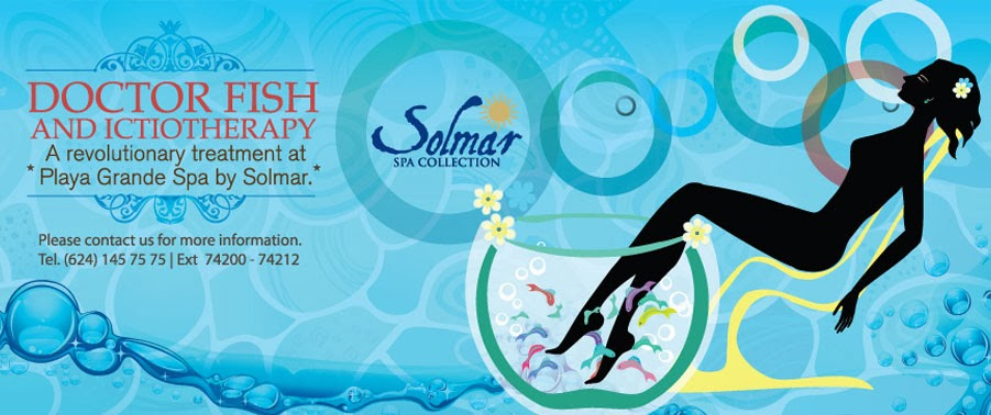 Solmar hotels resorts october 2013 for Fish spa near me