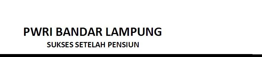 PWRI BANDAR LAMPUNG