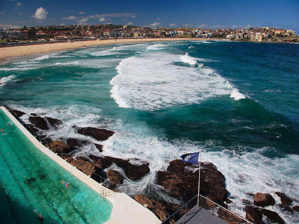 Bondi Beach Sydney picture wallpaper (1024 x 768 )
