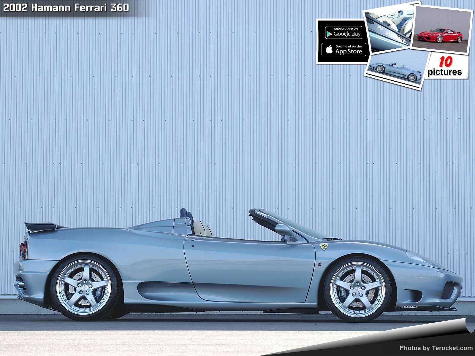 Hình ảnh xe ô tô Hamann Ferrari 360 2002 & nội ngoại thất