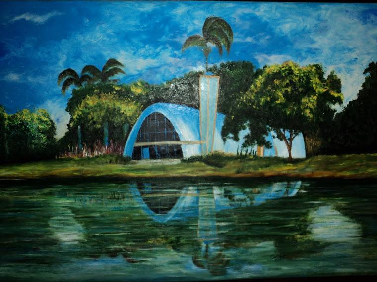 Pintura Acrílica em Tela-painel