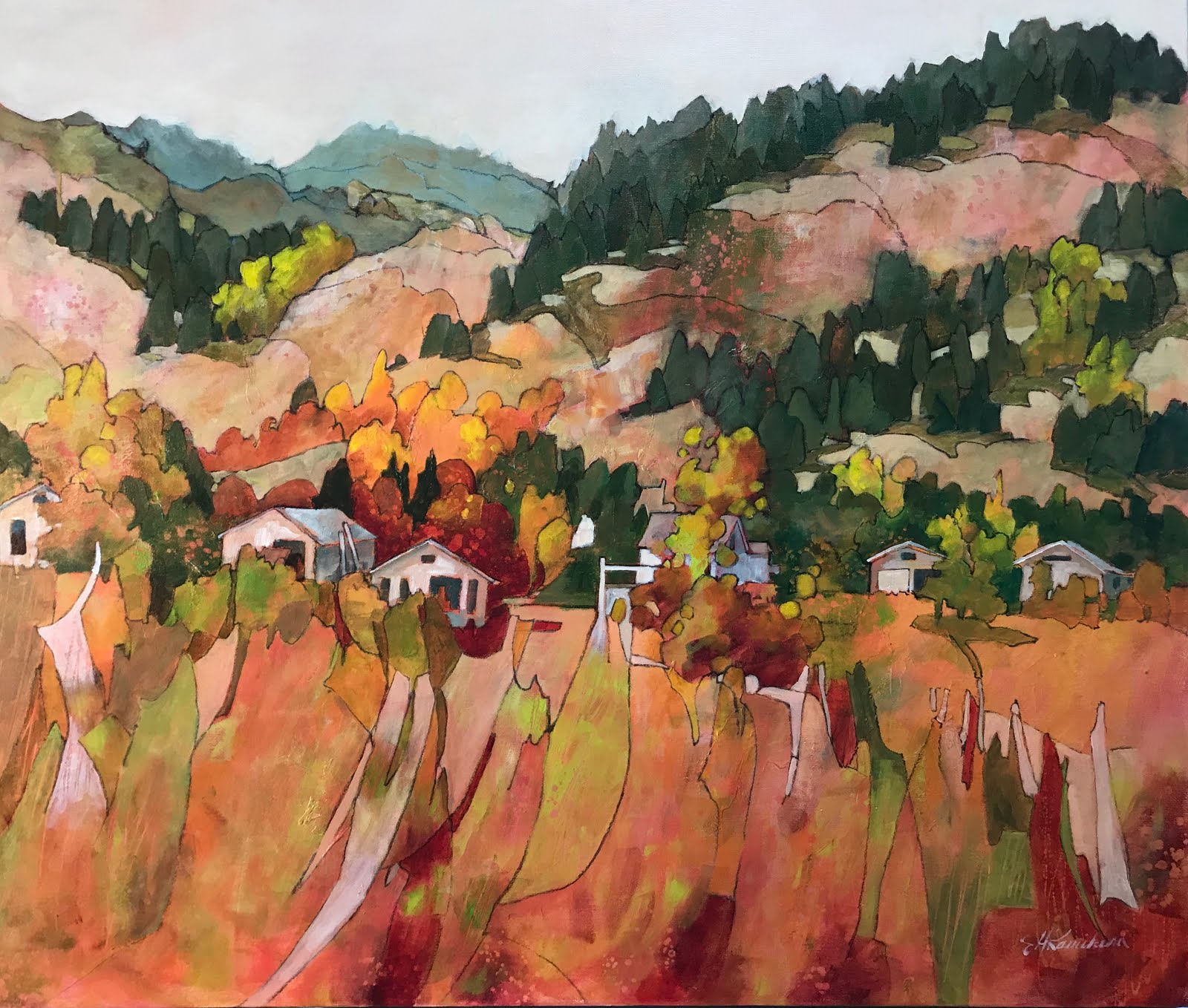 In the Valley 34x40