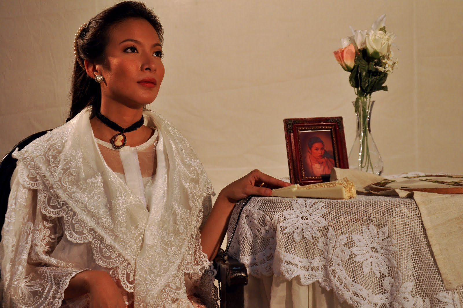 Cris+Pastor+as+Maria+Clara - Elegance of the Filipina in Maria Clara Dress - Philippine Photo Gallery