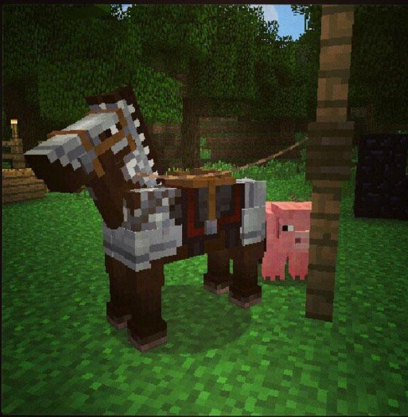how to make a horse sasddle minecraft