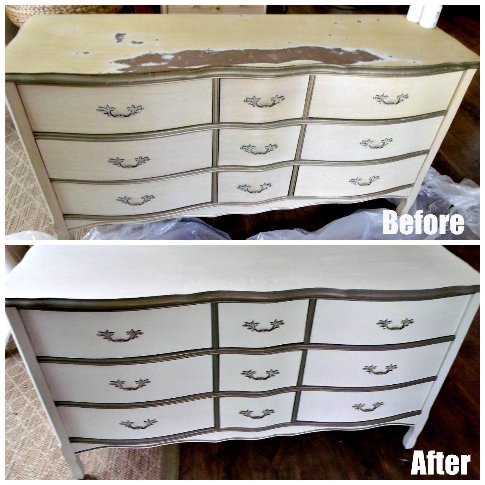 Waverly Chalk Painted Dresser