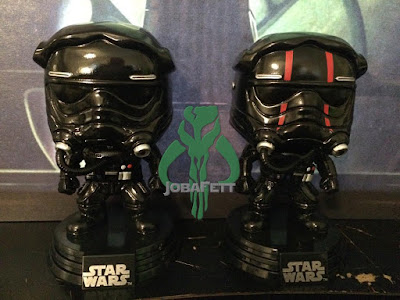 Star Wars Smuggler's Bounty Exclusive Pop! Vinyl Figures by Funko - TIE Fighter Pilot & TIE Fighter Pilot Elite