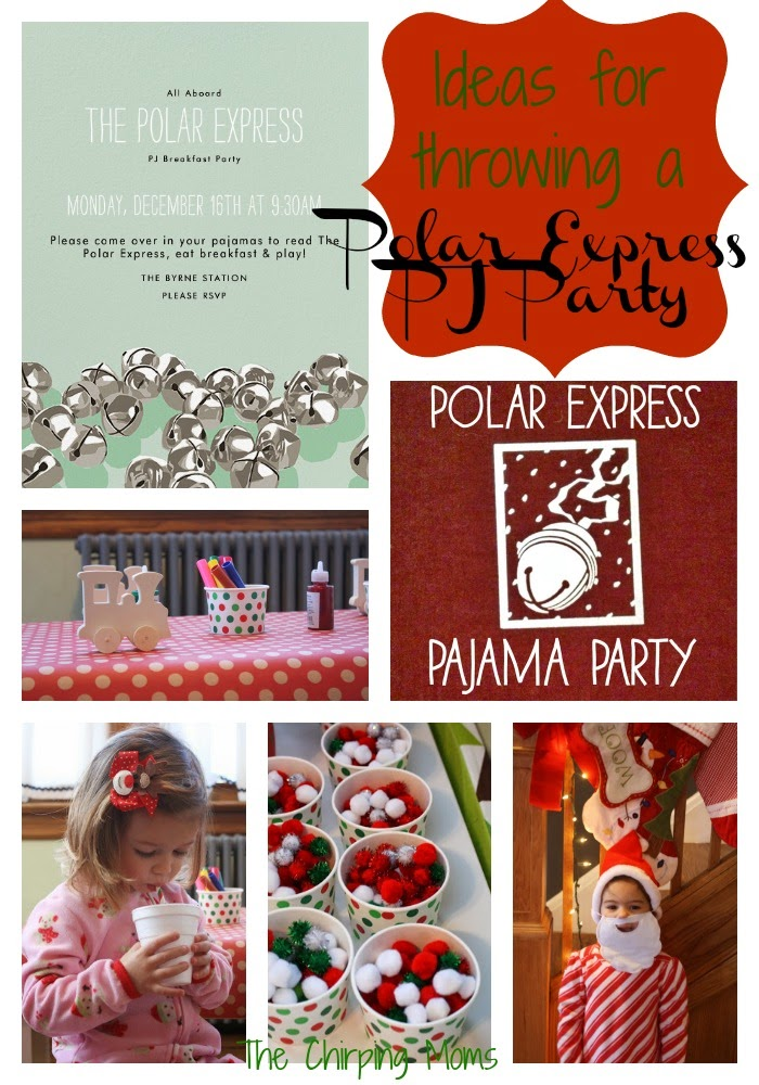 The chirping moms where to wednesday a polar express pajama party