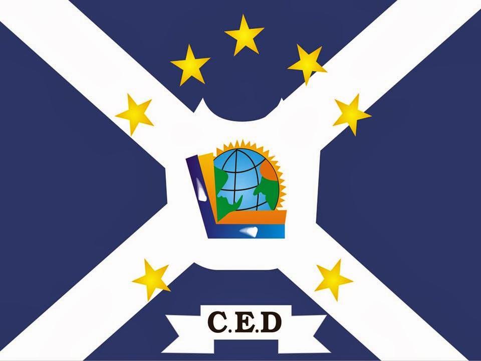 Bandeira oficial do CED