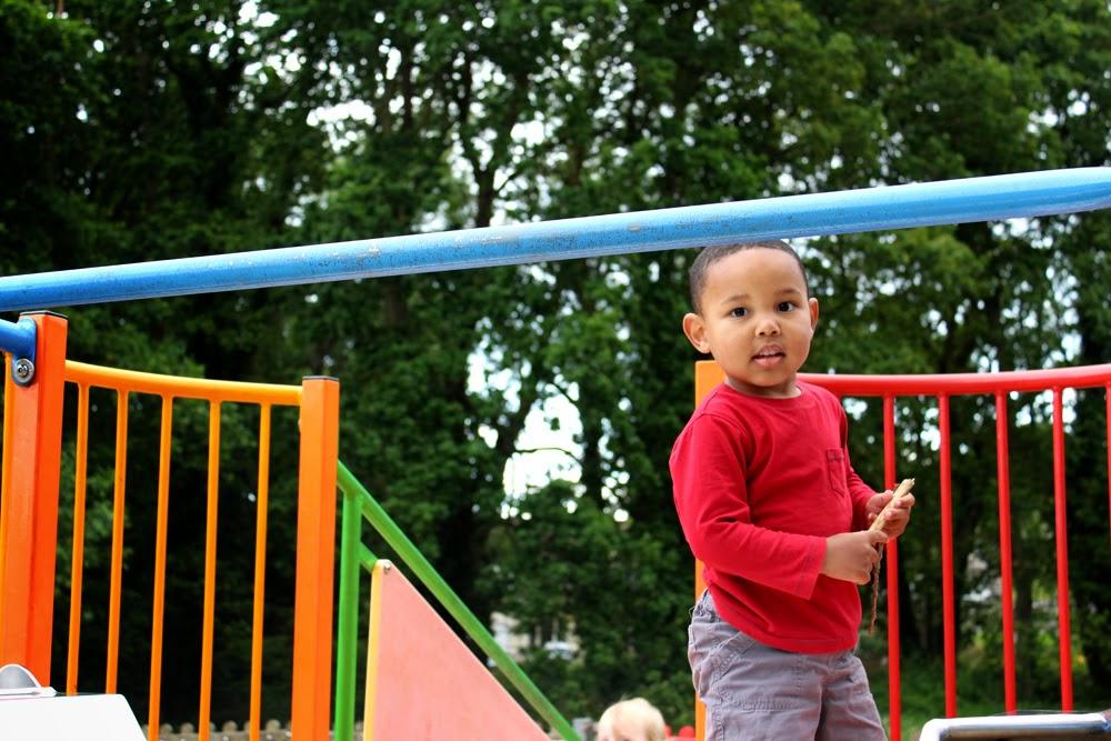 playground, little lad