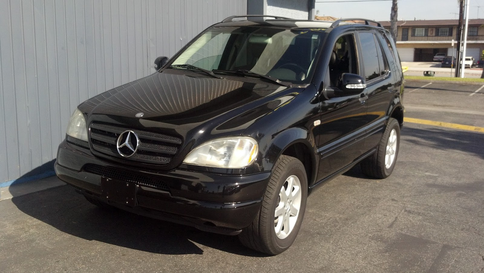 2000 mercedes benz ml430 black t tak auto service