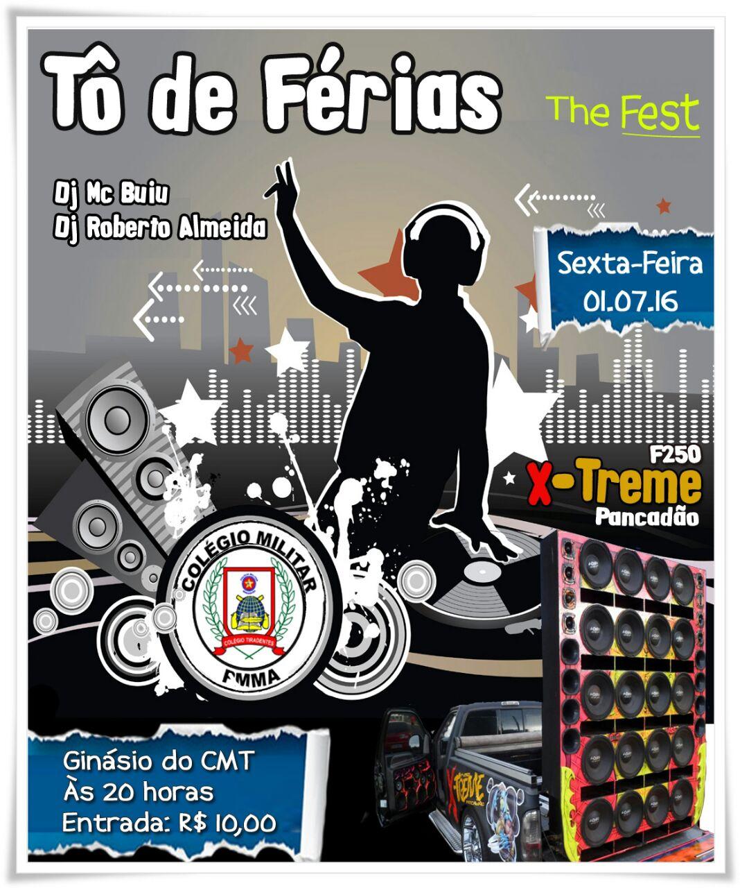 Tô de férias com DJ Buiu e DJ Roberto Almeida.