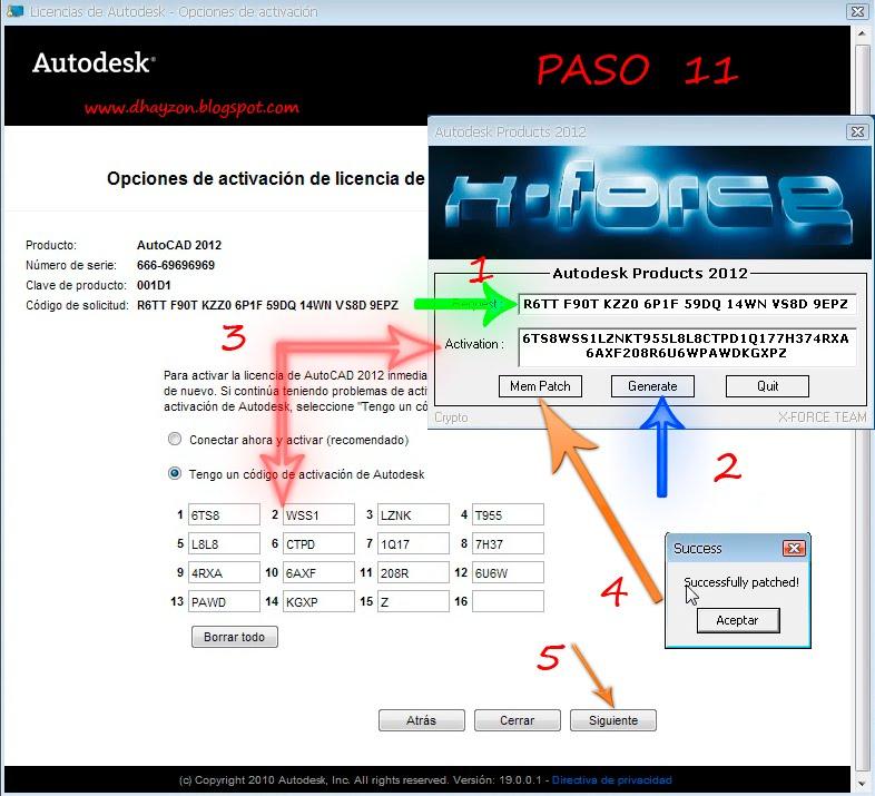 Download mem patch autodesk 2012