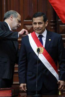FOTOS DEL NUEVO PRESIDENTE DEL PERU OLLANTA HUMALA
