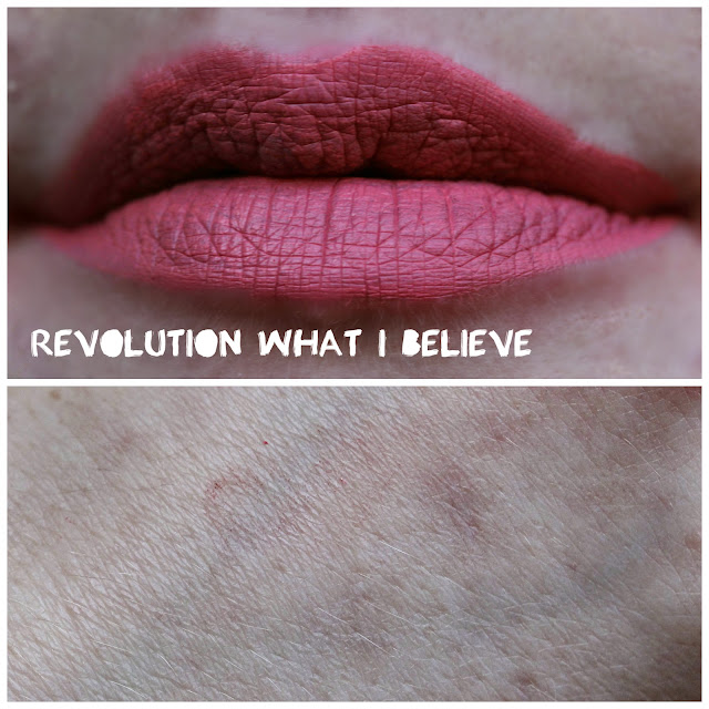 Revolution Velvet Matte Lip Lacquer in What I Believe
