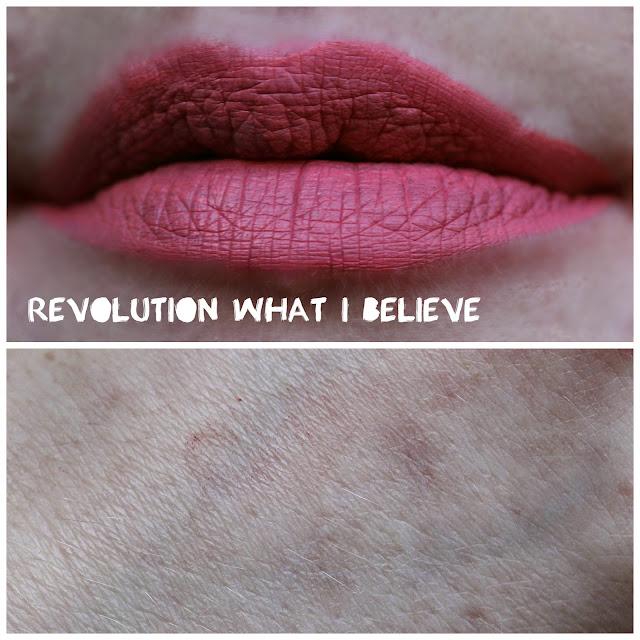 Revolution Velvet Matte Lip Lacquer in What I Believe