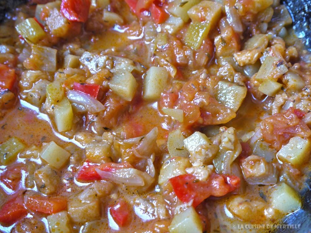 Voir la recette : La ratatouille pour les nulles (La Cuisine de Myrtille)