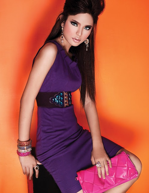Cambodian Actress, Models and Singer Mak Sensonity