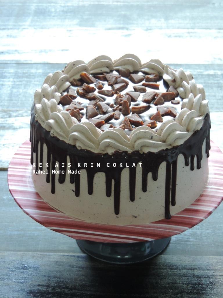 Kek Ais Krim Coklat