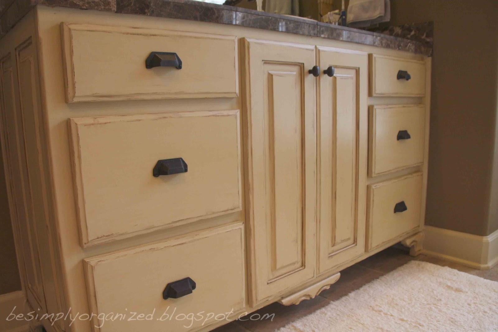 bathroom drawers - simply organized