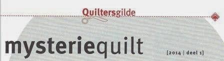 Facebook groep Mysterie Quiltersgilde 2014