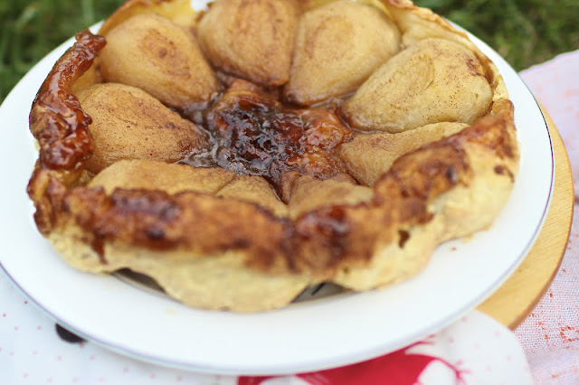 Pear Tarte Tatin | Nothing in the House