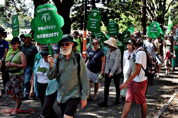 Project Serenity, Bushcare - Sydney, Climate Change March, The Domain, Macquarie Street, Climate Change, Protest, #NoPlanetNoFuture, #PeoplesClimate, #PeoplesClimateMarch, #Sydney,