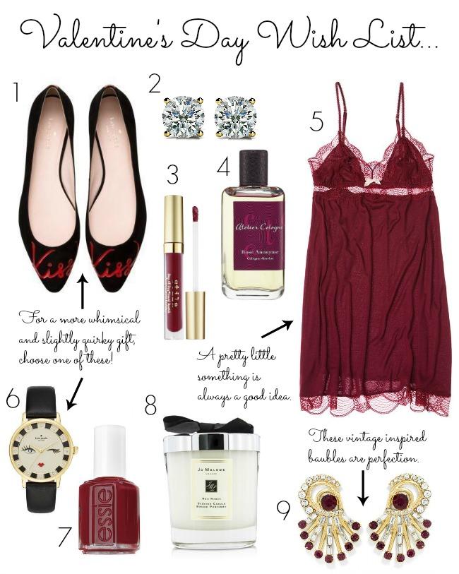 valentine's day wish list - valentine's gifts for her - valentine's gifts - valentine wish list