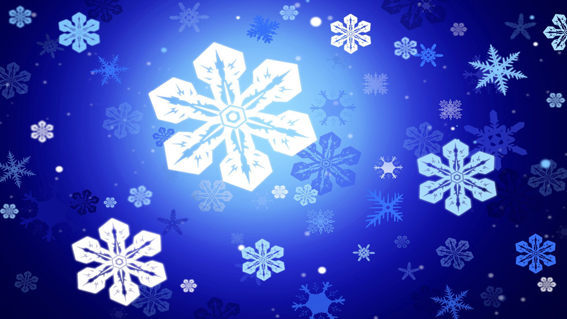 Snowflakes wallpapers free download beautiful winter