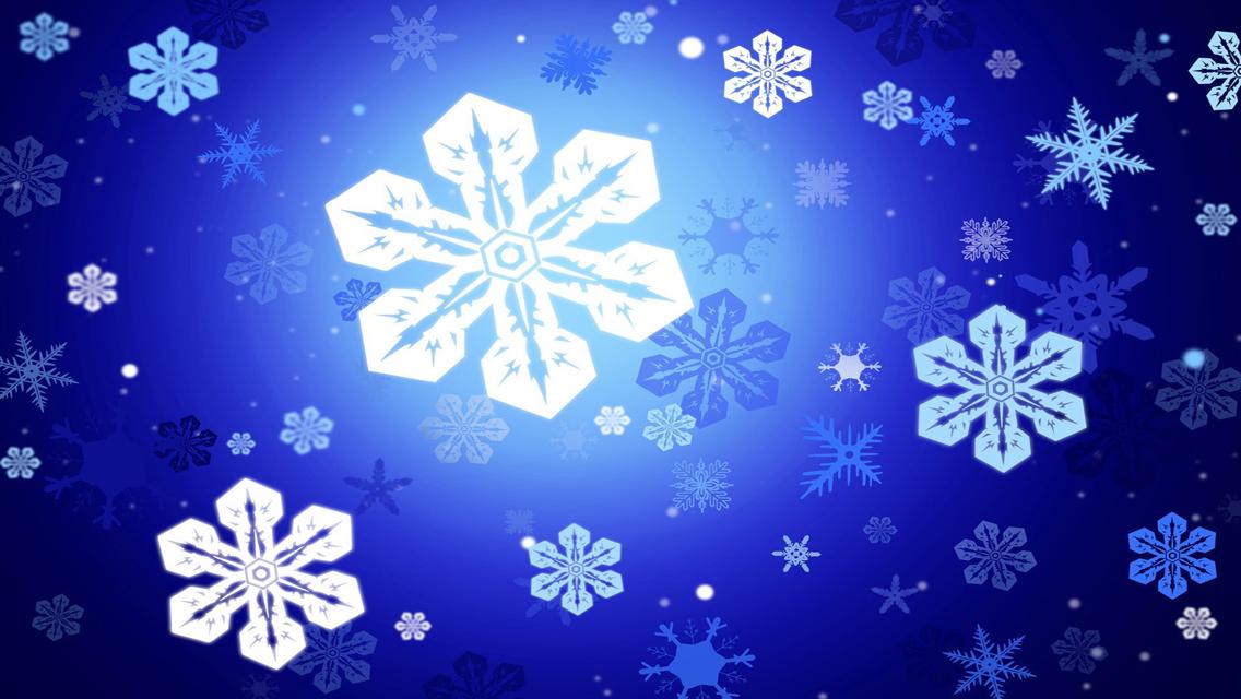 snowflake wallpaper iphone - photo #34