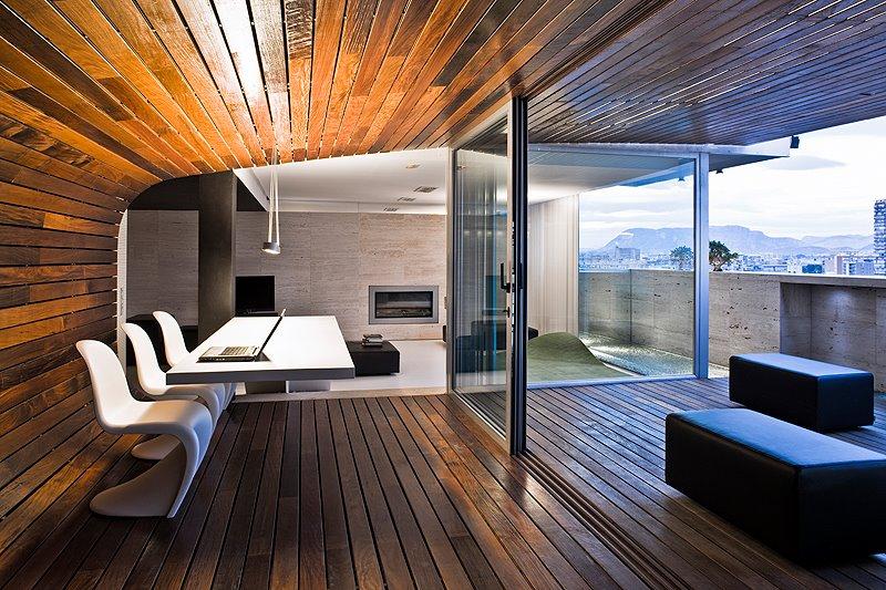 Barquitec ticos en madera cont nua - Falso techo madera ...