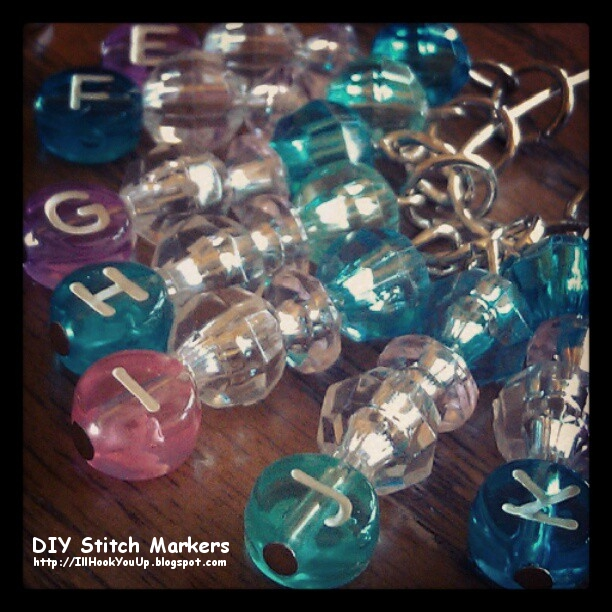 Crochet Stitch Markers Diy : Niccupp Crochet: How to Make Your Own Stitch Markers on the Cheap