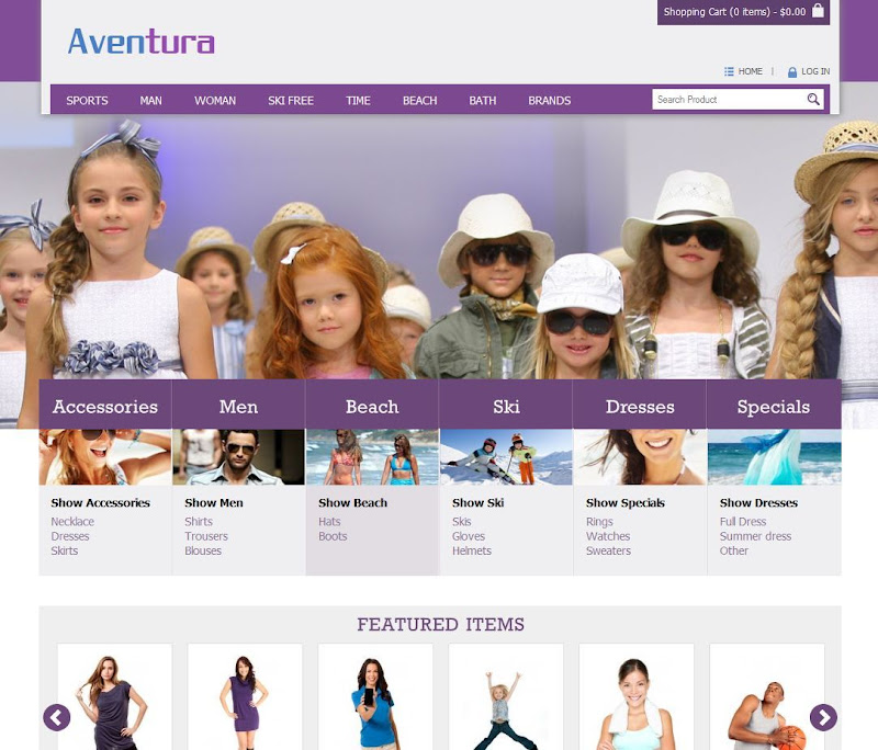 Aventura-OpenCart-eCommerce-Theme