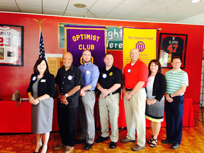 new optimist club members georgia district