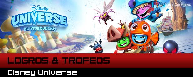 Logros Trofeos Disney Universe PS3 XBox 360