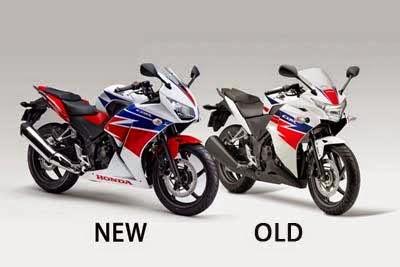 Perbedaan CBR250R lama dan baru