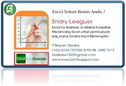 Excel Solusi Bisnis Anda..!